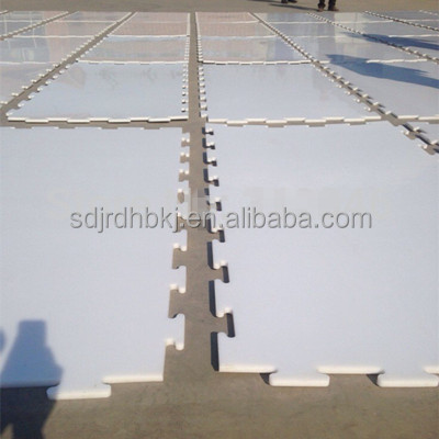 synthetic plastic ice sheets/high density polyethylene arena boards manufacturer/roller skating ice rink flooring