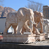 High Quality White Marble Stone Elephant