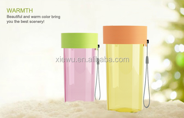 340ml mini water bottle transparent