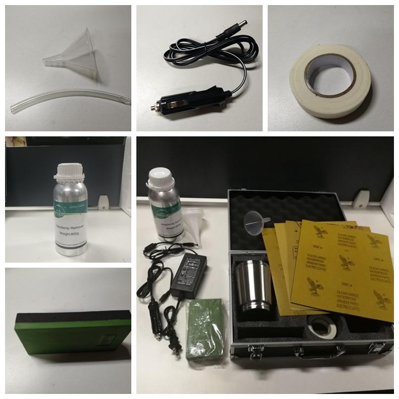 Car Headlight Cleaner/Headlight Refurbished/Permanent Head Lamp Repair/Headlamp Restoration Kit
