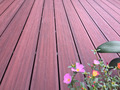 Ultra CE Certification low maintenance wood plastic composite decking floor/ capped/ co-extrusion wpc decking