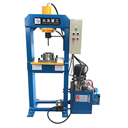 300 ton double action hot hydraulic press