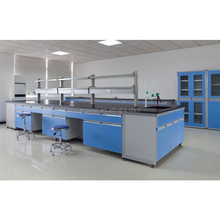 laboratory equipment, used central lab workbench, microbiology laboratory furniture