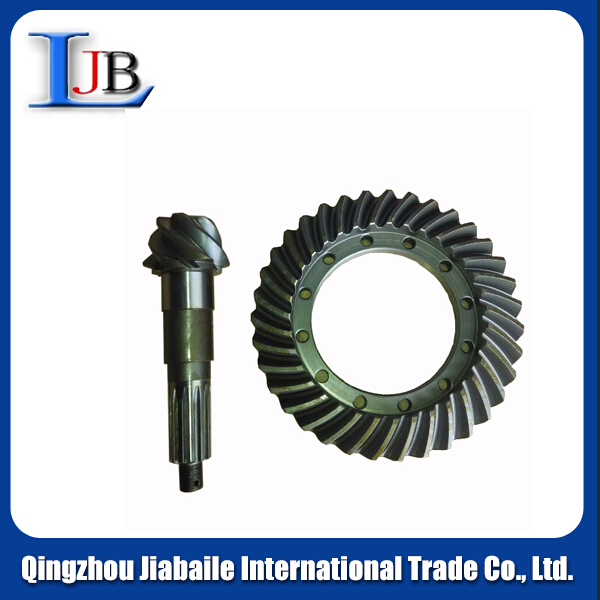 YUEJIN LIGHT TRUCK SPARE PARTS ---- CROWN WHEEL PINION / DRIVING /DRIVER CONE GEAR 7:43
