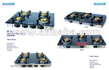 Gas Cook tops with 2/3/4 Burners