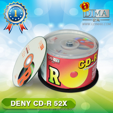 China best selling product cdr blank disc 700MB 52x
