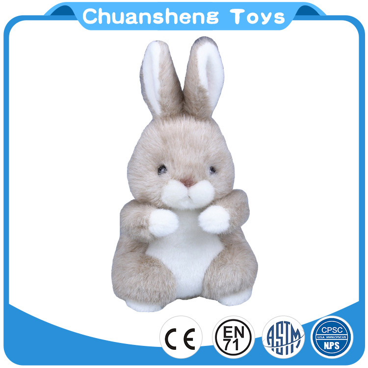 CHStoy factory customized design animal plush Cute rabbit super soft plush toy for Baby