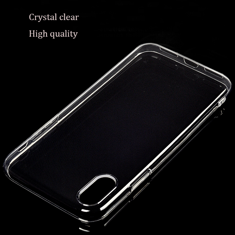 2017 New coming products ultra slim transparent clear mobile cover for iphone x case
