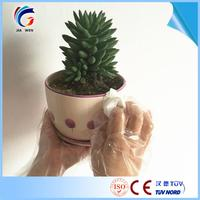 hair dyeing main product white disposable hdpe gloves