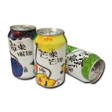 Hot Sale 310ml Can(tinned) Fruit Juice Drink with pulp