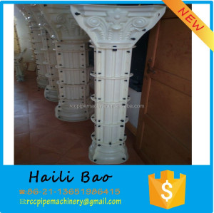 decorative concrete columns molds and roman pillar for sale