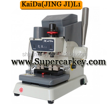 2017 Good price Kaida( JingJi L1) Milling key Cutting machine with best quality