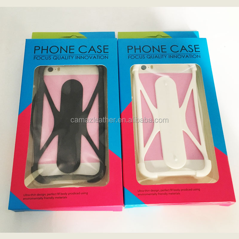 Popular Design Silicone Frame Case for Mobile Phone