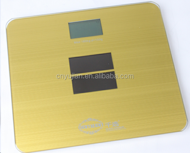 MJ-513 High Quality Solar Energy Body scale Big LCD Display Scale 180kg