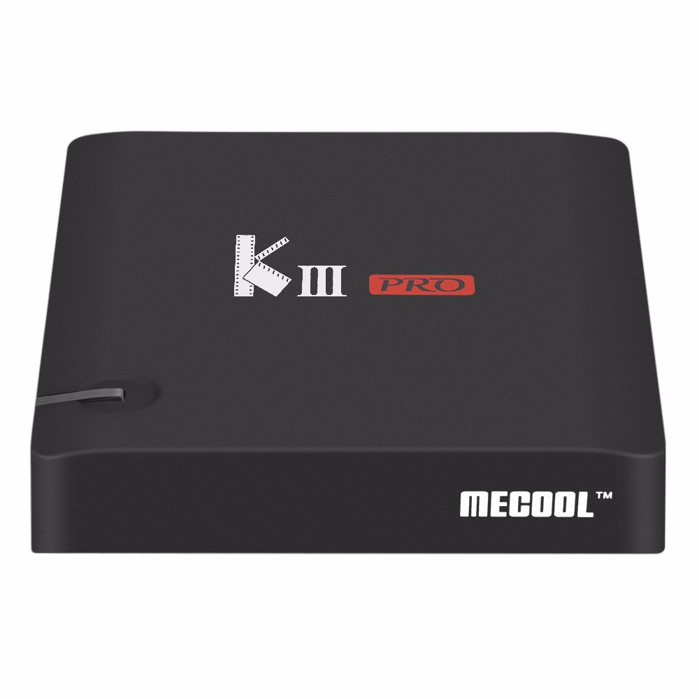 MECOOL KIII Pro DVB-T2 Android TV Box 3G 16G Amlogic S912 Octa Core 4K H.265 Decoding 2.4G+5G Dual Band WiFi BT 4.0 Media Player
