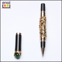Top quality sapphire pen with crystal clip