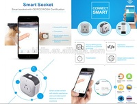 EU /US/AU/UK plug wireless smart socket controled by wifi system app with wifi smart socket with on/off dimming time scheduling