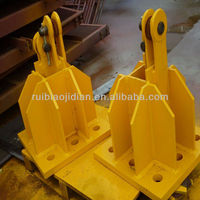 tower crane fixing angle, foundation base, tower crane spare parts