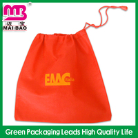 Good for Promotion Printing Cheap Gym Sack Eco Non Woven Chirstmas Gift Drawstring Bag