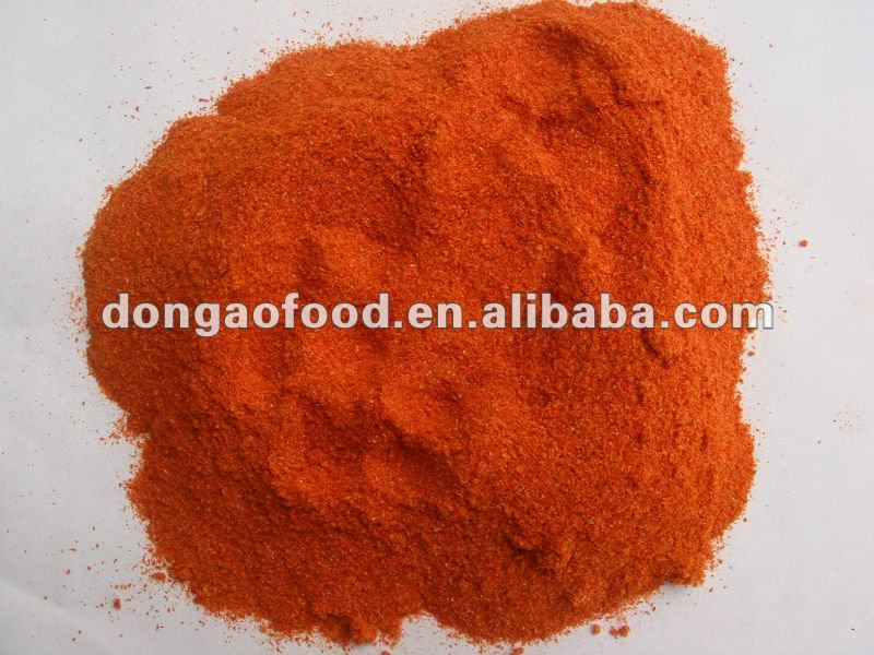 supply dry red paprika 2012