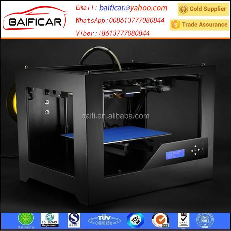 2016 Upgraded Multifunction Large Build Volume Single Extruder 200*200*230mm Laser 3D Printer For Sale