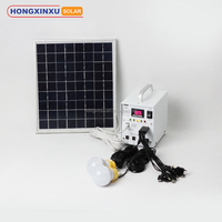 Home Application and Normal Specification DC solar power lighting home system