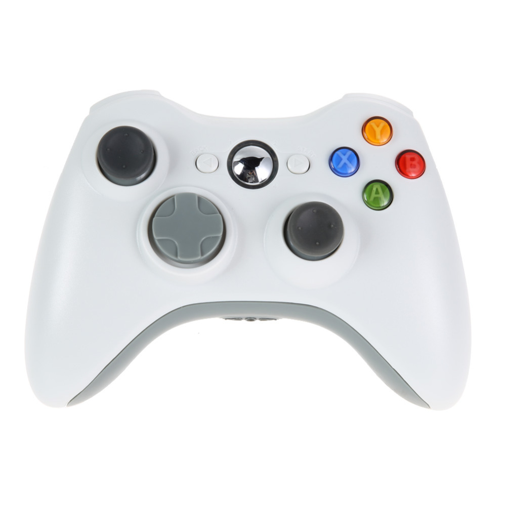 2016 New Game <strong>Controller</strong> PC 2.4GHz Wireless Gamepad Remote <strong>Controller</strong> for Microsoft Xbox 360 Console White