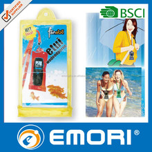 Personalized fashion smartphone PVC waterproof cell phone bag