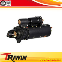 6CT8.3-G2 starter parts suppliers 24V 8KW 3415537 Dongfeng truck diesel engine parts motor starting price