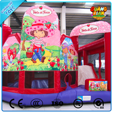 Guangqian New Design Happy Boy And Girl Inflatable Jumper For Kids For Sale