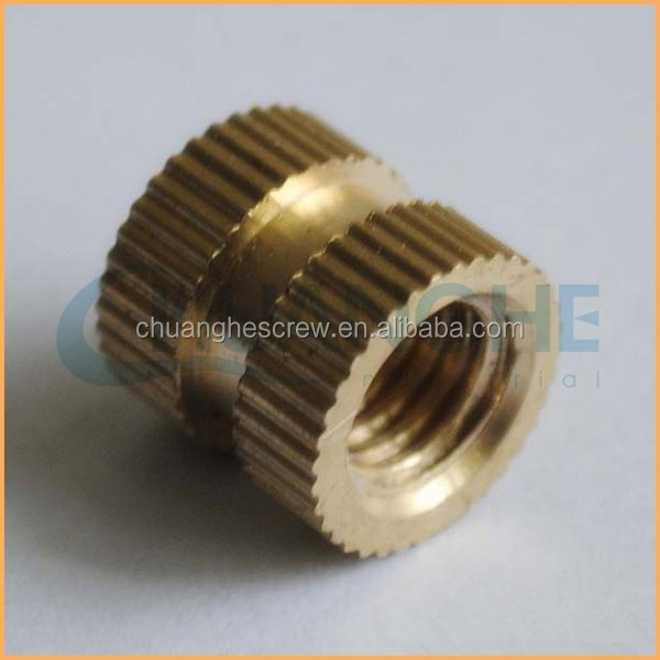Tube threaded insert