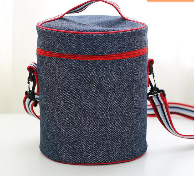Newest Professional manufacturer Durable round Insulated cooler bag