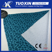 china supplier 100 polyester printed knit fabric for jersey/bus headrest cover