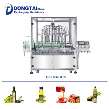 Automatic vegetable oil/coconut oil filling machine glass/PET Bottle for 1-5L