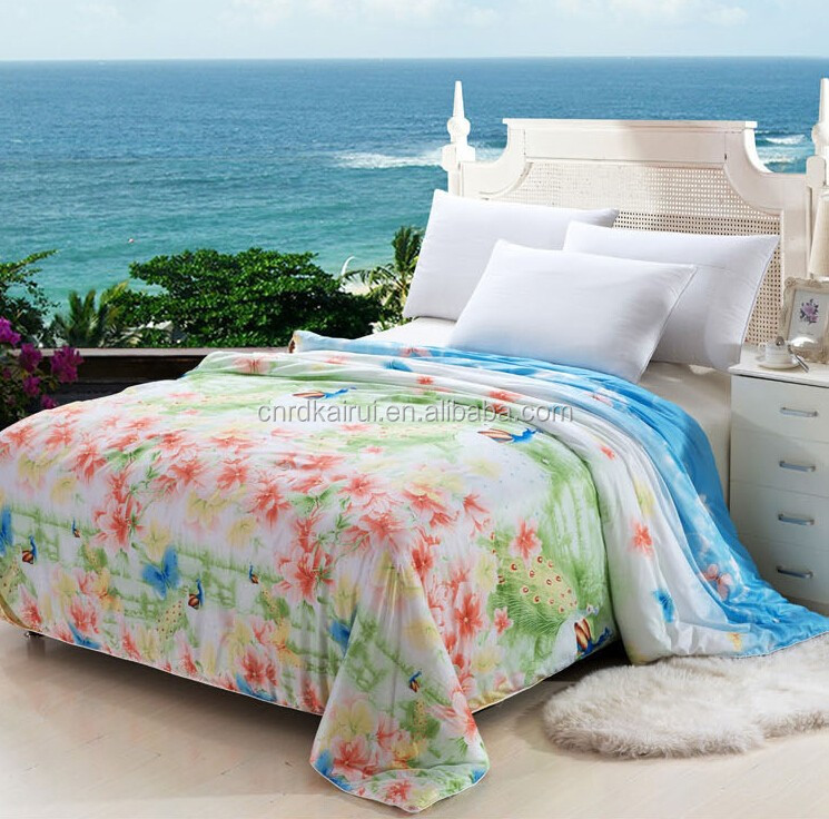 China wholesale European Designs plain white indian cotton 3d hotel bed sheet and bed cover