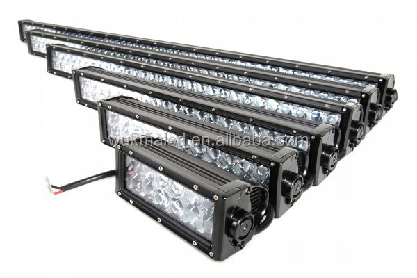 "4D Off-road Light Bar Suv Atv 4wd Led Driving Light 7.5"" 13.5"" 21.5"" 31.5"" 41.5"" 50"" inch 4D 4x4 led light bar"