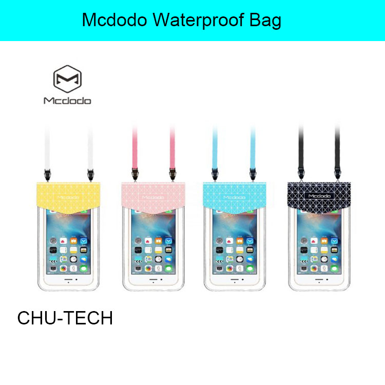 Mcdodo Waterproof Bag for iPhone 7 7 Plus 6 6s 5 5s for Huawei P8/ P9 Lite Dogee X5 Galaxy S7 S6 edge G530 Redmi Note 3 Meizu