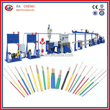 Fiber optic cable making equipment