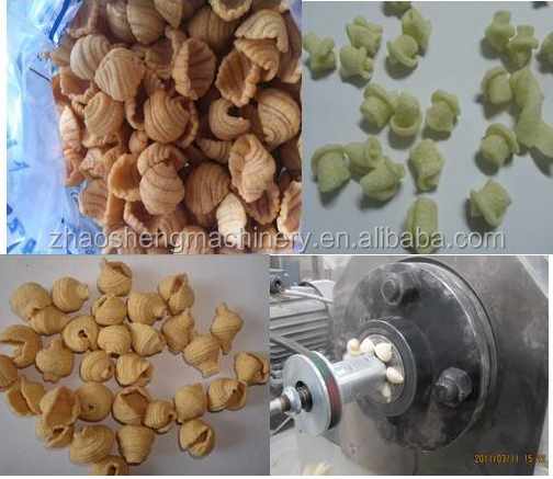 China hot sales Screw Crispy pea/screw/shell food processing line