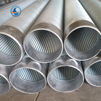 Carbon Steel Iron Pipe Water Well Johnson Screen