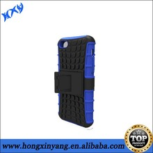 2014 new arrival 2 in 1 hybrid combo tpu case with stand for iphone 5c