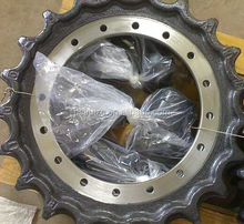 excavator parts, kubota KX135,KX135-3,KX155,KX155-5 sprocket, track assembly and roller parts