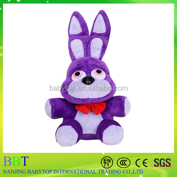 2016 Five Nights at Freddy's FNAF 4 Freddy Bonnie Chica Foxy Stuffed Plush Doll Toy 10""
