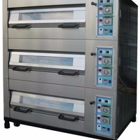 Commercial Automatic Bakery Machines Gas Deck