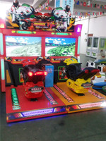 2013 hot sale coin operated motor racing game machine, simulator driving game machine