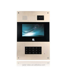 High Quality Jade IP competition multi apartment photo capture video door phone