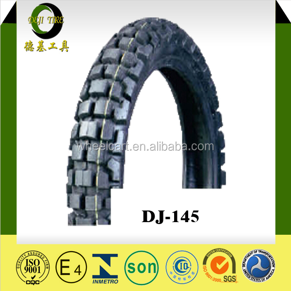 Motorcycle Tire And Tube,Motorcycle Tyre Manufacturers, DEJI brand motorcycle off road tire 410-18