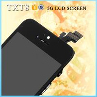 wholesale supplier accept Escrow color lcd complete for iphone 5""