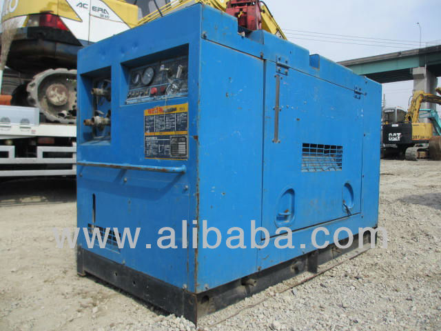 Air compressor mobile