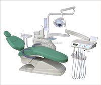 Fully equipped with accessories dental chair colorful german dental chair